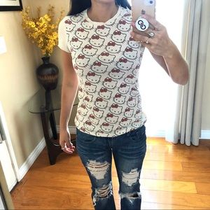 Tops - Hello kitty size small top
